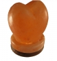 Heart Carved Salt Lamp